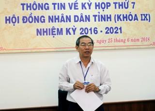 Họp báo thông tin Kỳ họp thứ 7 HĐND tỉnh khóa IX