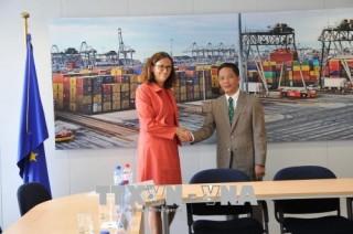 Việt Nam và EU kết thúc rà soát pháp lý EVFTA
