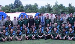 Việt Nam được chọn làm địa điểm huấn luyện lực lượng gìn giữ hòa bình