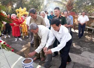 Kỷ niệm 152 năm Ngày mất Lãnh binh Nguyễn Ngọc Thăng