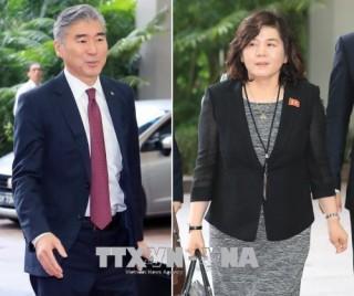 Mỹ, Triều Tiên thúc đẩy hiện thực hóa kết quả cuộc gặp cấp cao