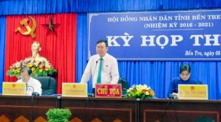 Đại biểu HĐND tỉnh chất vấn đề sản xuất, môi trường và văn hóa tinh thần của nhân dân