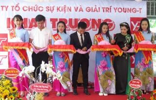 Khai trương công ty tổ chức sự kiện và giải trí Young-T