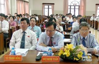 TP. Bến Tre tổ chức Kỳ họp thứ 9, HĐND thành phố khóa XI