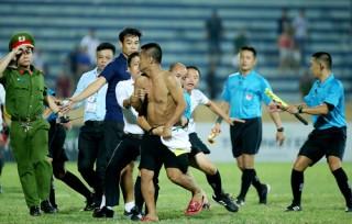 Nam Định phải đá trên sân nhà không khán giả ở V-League
