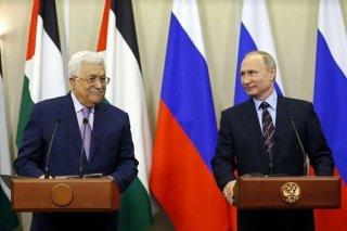 Tổng thống Nga và Palestine thảo luận tình hình Trung Đông