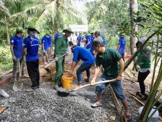 Thanh niên tình nguyện hè 2018: Thực hiện 1 chương trình và 4 chiến dịch