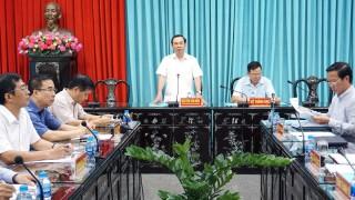 Kiểm tra việc thực hiện Nghị quyết số 18 và 19 của Trung ương trên địa bàn tỉnh