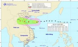 Chiều tối nay, bão số 3 ảnh hưởng trực tiếp từ Thái Bình đến Hà Tĩnh