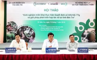 Thúc đẩy phát triển hợp tác xã nông nghiệp ứng dụng công nghệ cao