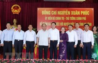 Đức Thọ phấn đấu trở thành huyện nông thôn mới đầu tiên của Hà Tĩnh