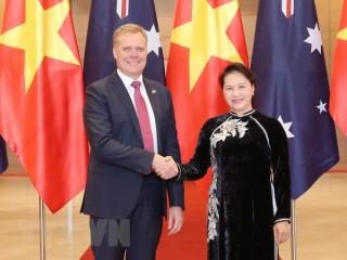 Chủ tịch Quốc hội đón, hội đàm với Chủ tịch Hạ viện Australia