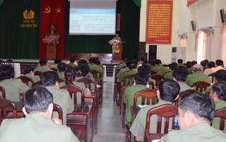 Đảng ủy Công an tỉnh triển khai Nghị quyết Trung ương 7