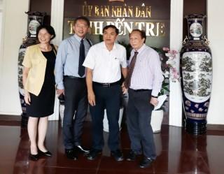 Chủ tịch UBND tỉnh Cao Văn Trọng làm việc với đoàn doanh nghiệp Nhật Bản và Úc