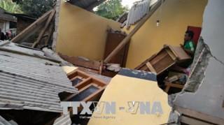 Hàng trăm người thương vong vì động đất tại Indonesia