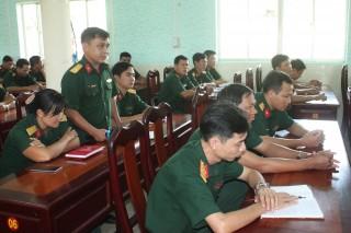 Bộ Chỉ huy Quân sự tỉnh đối thoại với cán bộ, chiến sĩ, lực lượng vũ trang