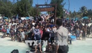 Động đất tại Indonesia: Hơn 2.000 du khách được sơ tán đến nơi an toàn