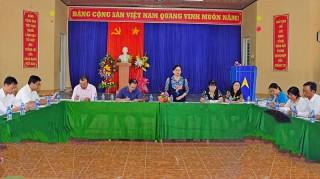 Giám sát việc thực hiện Đề án đa dạng sinh kế tại xã Hưng Phong