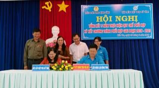Liên đoàn Lao động và Hội Liên hiệp Phụ nữ tỉnh: Tổng kết 5 năm phối hợp hoạt động