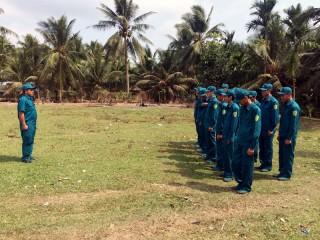 Ban Chỉ huy Quân sự xã Tân Thành Bình: Nâng cao chất lượng công tác huấn luyện