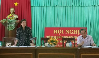 HĐND tỉnh giám sát thực hiện Đề án sinh kế tại Chợ Lách