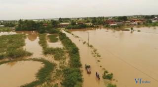 Lũ lụt diện rộng tại Lào, 46 người chết trong tháng 7 và 8