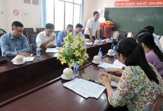 Kiểm tra thực hiện quy chế dân chủ tại Sở Kế hoạch và Đầu tư