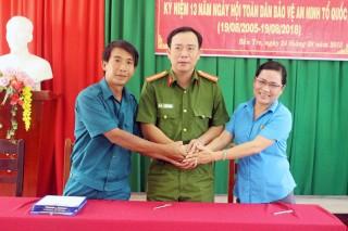 Trường Cao đẳng nghề Đồng Khởi ký kết công tác phối hợp với các đơn vị trên địa bàn