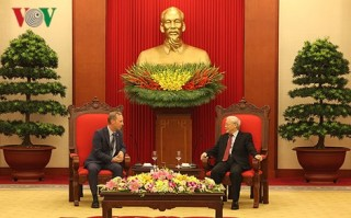 Tổng Bí thư Nguyễn Phú Trọng tiếp Đại sứ Vương quốc Anh