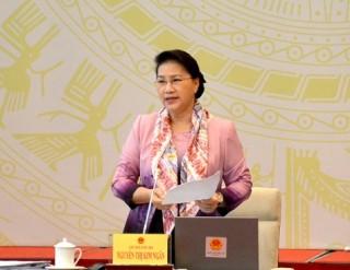 Hội nghị đại biểu Quốc hội hoạt động chuyên trách thảo luận về 2 dự án luật