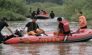 Lũ lụt làm hàng chục người thiệt mạng ở Triều Tiên 