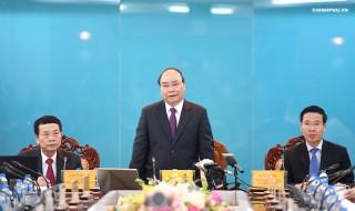 Thủ tướng: Đổi mới tư duy quản trị sẽ thúc đẩy công nghệ phát triển