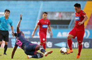 vòng 22 V-League 2018: Hải Phòng giành 3 điểm trên sân nhà
