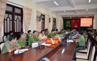 Hội nghị Ban Chấp hành Đảng bộ Công an tỉnh lần thứ 14