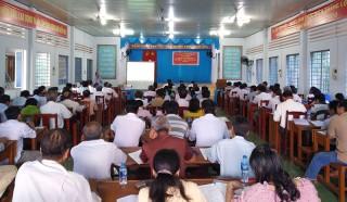 Tập huấn hướng dẫn rà soát, bình nghị hộ nghèo, hộ cận nghèo năm 2018