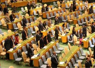 Đại hội đồng Liên hợp quốc dành phút mặc niệm Chủ tịch nước Trần Đại Quang