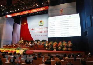 Bầu 161 người vào BCH Tổng Liên đoàn Lao động Việt Nam khóa XII