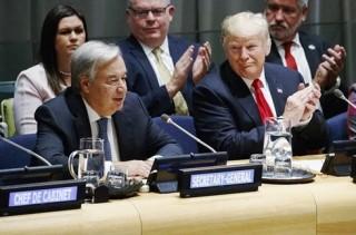 Phiên họp Đại hội đồng Liên hợp quốc nóng vấn đề căng thẳng thương mại