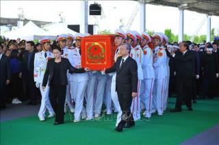 Tiễn đưa Chủ tịch nước Trần Đại Quang về nơi an nghỉ cuối cùng