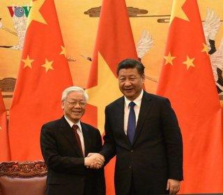 Lãnh đạo Đảng, Nhà nước chúc mừng 69 năm Quốc khánh Trung Quốc