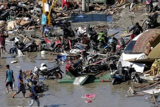 Indonesia: 1.200 tù nhân trên đảo Sulawesi vượt ngục sau động đất