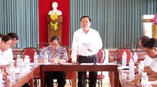 Kiểm tra tiến độ tuyên truyền Đề án số 3333 tại xã Phước Hiệp