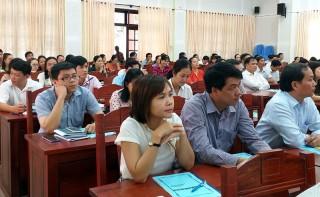 Tập huấn nghiệp vụ báo chí - truyền thông cơ sở năm 2018