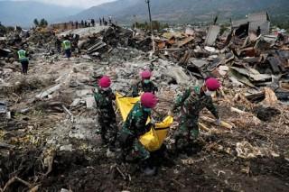 Indonesia ngừng tìm kiếm nạn nhân trận động đất và sóng thần vào 11-10-2018