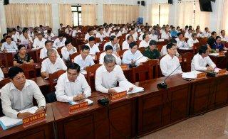 Thông báo kết quả Hội nghị lần thứ 14 Ban Chấp hành Đảng bộ tỉnh khóa X