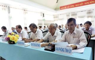 Đảng ủy Khối các Cơ quan tỉnh đạt 27/30 đầu việc theo chỉ tiêu Nghị quyết