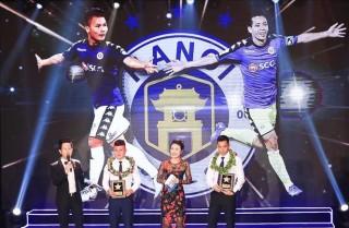 Gala bóng đá chuyên nghiệp 2018 xướng tên Văn Quyết, Quang Hải