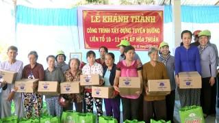 Hơn 230 triệu đồng cho các hoạt động thiện nguyện tại huyện Chợ Lách