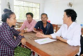 Tư vấn pháp luật lưu động miễn phí tại xã Thạnh Hải