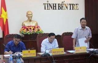 Hội Cựu chiến binh Việt Nam làm việc với lãnh đạo tỉnh về xây dựng nông thôn mới